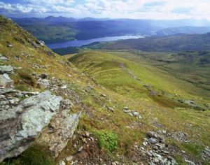 Loch Tay From Ben Ghlas by Richard Osbourne