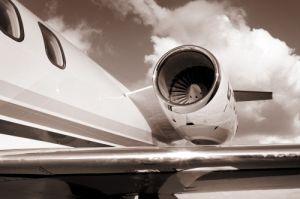 Lear Jet I by Richard Osbourne