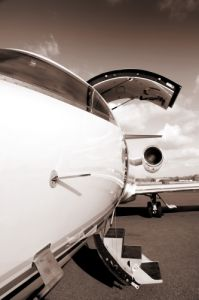 Lear Jet II by Richard Osbourne
