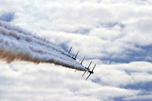 Red Arrows II by Richard Osbourne