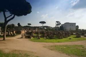Palatine Hill - Rome by Richard Osbourne