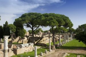 Roman Ruins - Ostia by Richard Osbourne