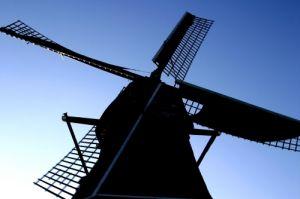 Dutch Windmill by Richard Osbourne