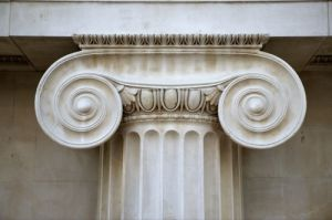 Ionic Column, British Museum by Richard Osbourne