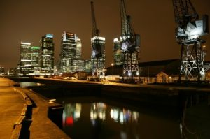 London - Docklands And Canary Wharf by Richard Osbourne