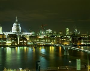 St Pauls & The Thames by Richard Osbourne
