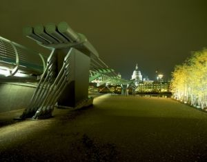 Millennium Bridge London by Richard Osbourne