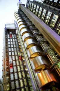 Lloyds Building by Richard Osbourne