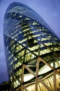 Swiss Re Building by Richard Osbourne