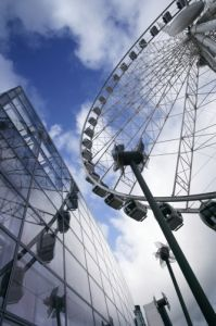 Ferris Wheel Manchester by Richard Osbourne