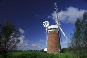Horsey Windpump, Norfolk by Richard Osbourne
