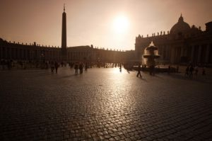 Rome - Saint Peters Square by Richard Osbourne