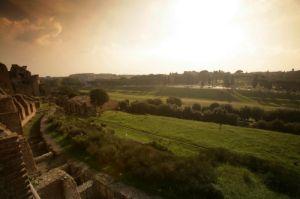 Rome - Palatine Hill & Circus Maximus by Richard Osbourne