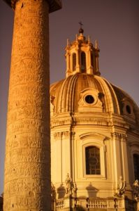 Rome - Trajan's Column by Richard Osbourne