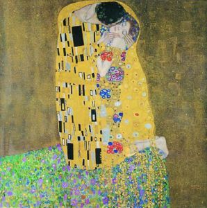 The Kiss (square) by Gustav Klimt