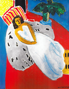 Reclining Nude in a White Dress by Henri Matisse