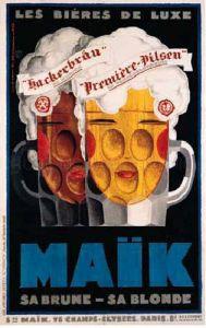 Maik-Bieres De Luxe, 1929 by Mercier