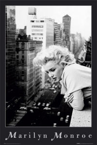 Marilyn Monroe - Balcony by Anonymous