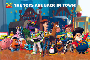 Toy Story 2 - Cast by Anonymous