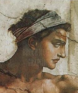 Portrait: Nude I by Michelangelo