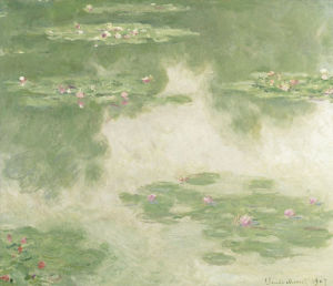 Waterlilies, Water Landscape,1907 by Claude Monet