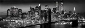 New York - Manhattan Black (Berenholtz) by Anonymous