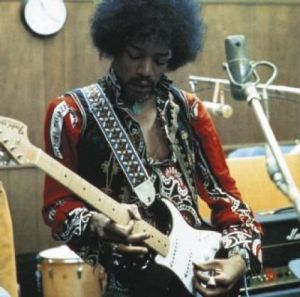 Jimi Hendrix - Studio by Celebrity Image