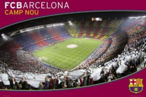 Barcelona - Nou camp by Anonymous
