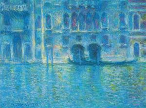 Palazzo Da Mula Venice by Claude Monet