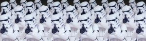 Star Wars - Storm Troopers by Celebrity Image