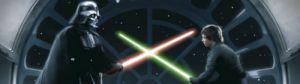 Star Wars - Vader vs Luke by Celebrity Image