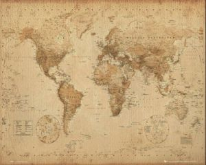 Ye Olde World Map by Anonymous