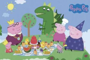 Peppa Pig - Princess picnic by Anonymous