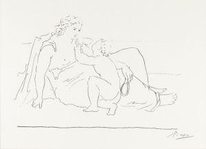 Femme et Enfant, 1925 by Pablo Picasso