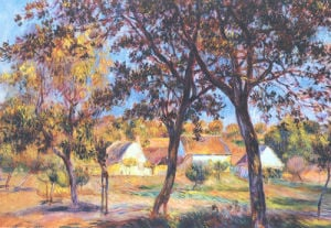 The Outskirts of Pont-Aven by Pierre Auguste Renoir
