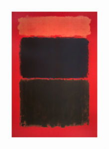 Light Red over Black, 1957 by Mark Rothko