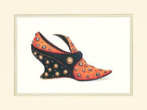 La Chaussure de Simone by Jerry Saunders