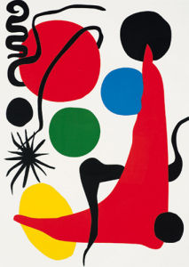 Green Ball, 1971 (Silkscreen print) by Alexander Calder