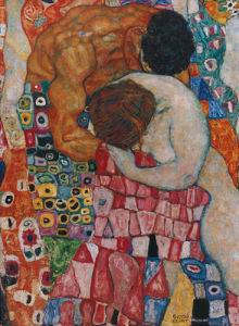 Death and Life, 1911 (Detail) by Gustav Klimt