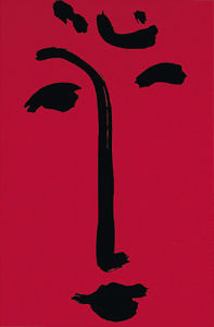 Facial-Maschera (red), 1951 (Silkscreen print) by Henri Matisse