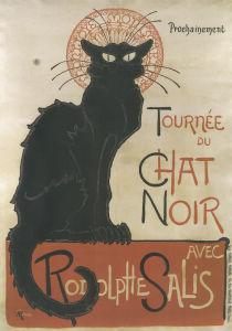 Tournee du Chat Noir by Theophile-Alexandre Steinlen