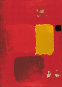 Cadmium Painting (Silkscreen print) by Patrick Heron