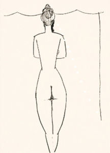 Nu de femme (Silkscreen print) by Amedeo Modigliani