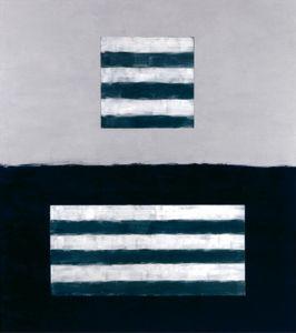 Landeline blue, 1999 by Sean Scully