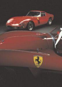 Ferrari GTO, 1962, Ferrari TRC, 1958 by Silvano & Paolo Maggi