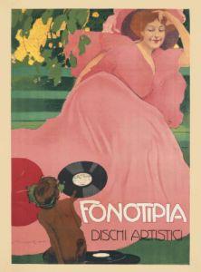 Fonotipia, 1906 by Marcello Dudovich