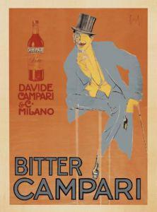 Bitter Campari, 1921 by Enrico Sacchetti
