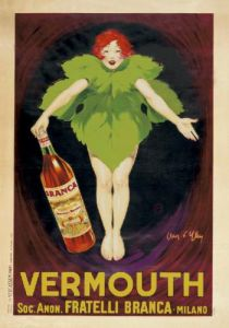 Vermouth Fratelli Branca 1922 by Jean d'Ylen