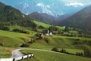 Trentino Alto-Adige, Italy by C.H. Hermes