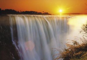 Victoria Falls, Zimbabwe by Roger de la Harpe